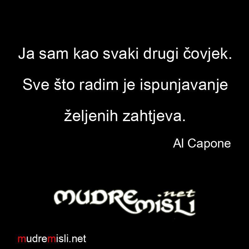 Al Capone Izreke I Citati Izreke I Citati